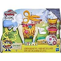 Play-Doh Animal Crew Sherrie Mama Wollen Schaapspeelgoed Voor Kinderen Vanaf 3 Jaar Met Grappige Geluiden en 4 PlayDoh…