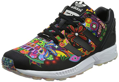 adidas Originals ZX FLUX NPS Zapatillas Sneakers Negro para Mujer Torsion System rflwvQLuC