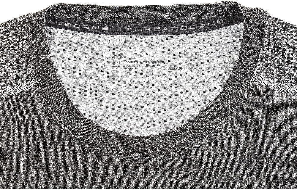 Under Armour Mens Threadborne Seamless Long Sleeve T-Shirt: Clothing