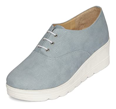 4495fc791b WoodBrough Women's Platform Shoes: Buy Online at Low Prices in India ...