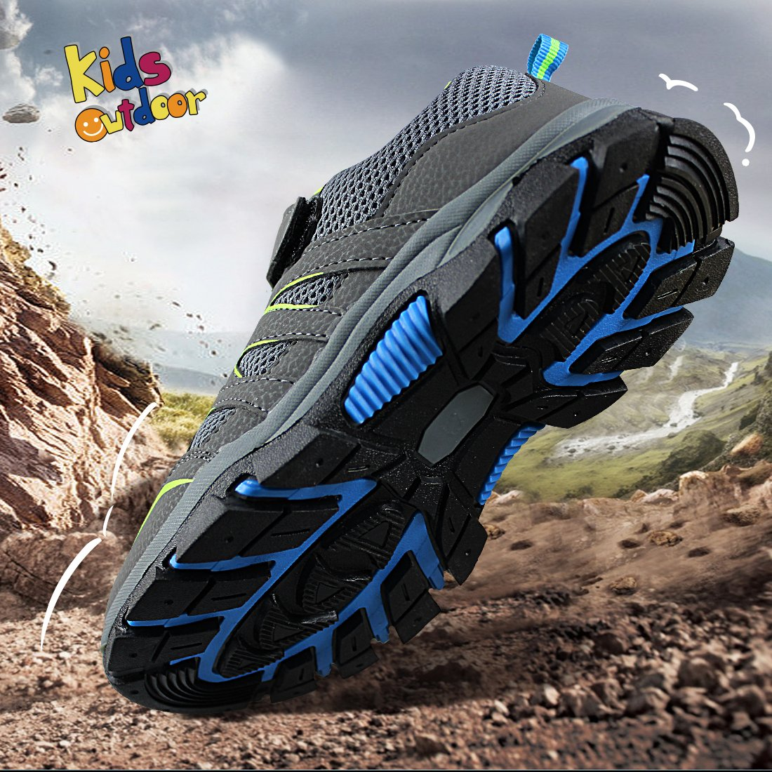 Toddler//Little Kid//Big Kid Hawkwell Kids Outdoor Hiking Shoe