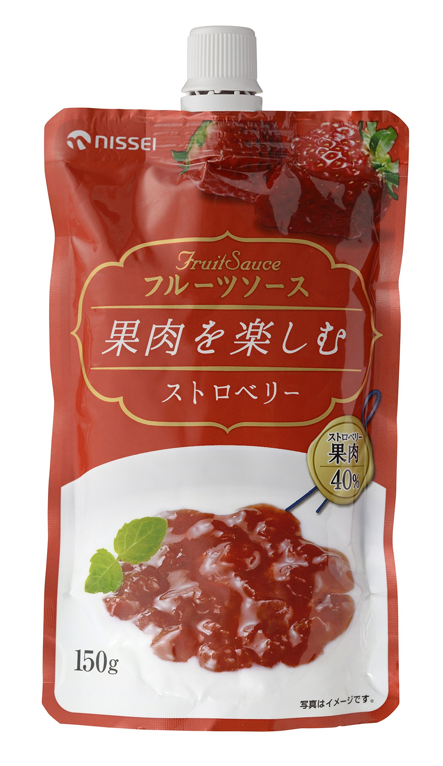 150gX12 or fruit sauce Strawberry enjoy the day world pulp