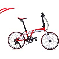 Ferrari Cupid Foldable Bicycle (20 Inch, Red)