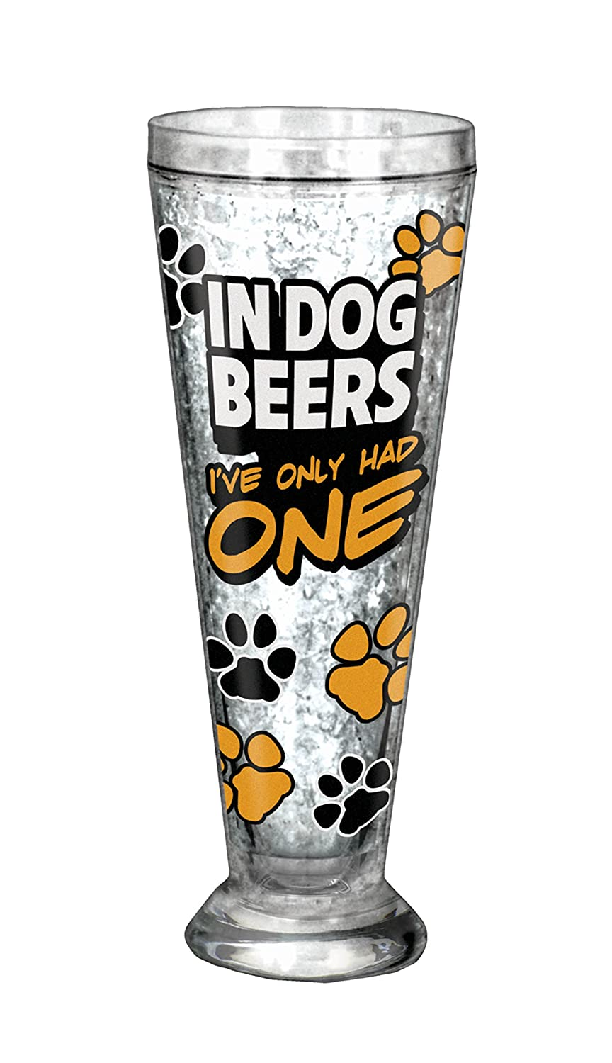 Spoontiques In Dog Beers Acrylic Pilsner, Multicolor