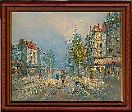 Amazon com: Sulis Fine Art Burnett - Signed and Framed