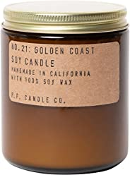 P.F. Candle Co. - No. 21: Golden Coast Soy Candle (7.2 oz)