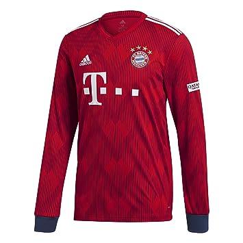 adidas FCB H JSY L - Camiseta 1ª equipación FC Bayern de Múnich ... cc3fa536a02