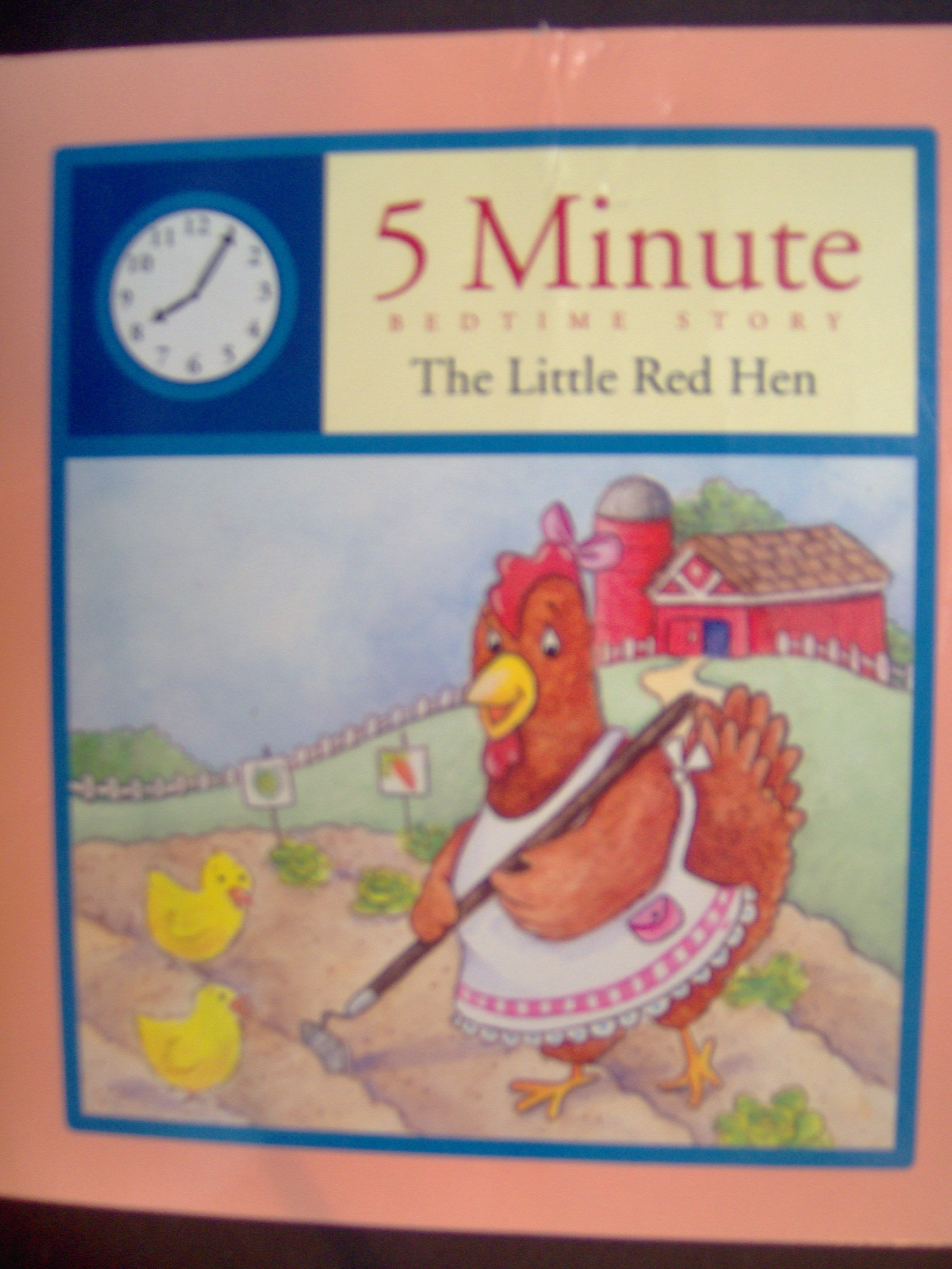 The Little Red Hen (5 Minute Bedtime Story) pdf