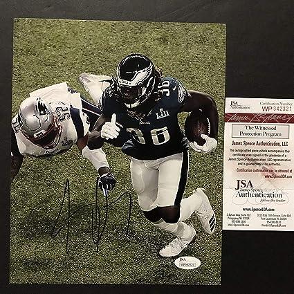 hot sale online 02d30 7afef Autographed/Signed Jay Ajayi Philadelphia Eagles Super Bowl ...
