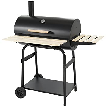 Best Choice Products BBQ Grill Charcoal Barbecue Pit Patio Backyard Home  Meat Cooker Smoker