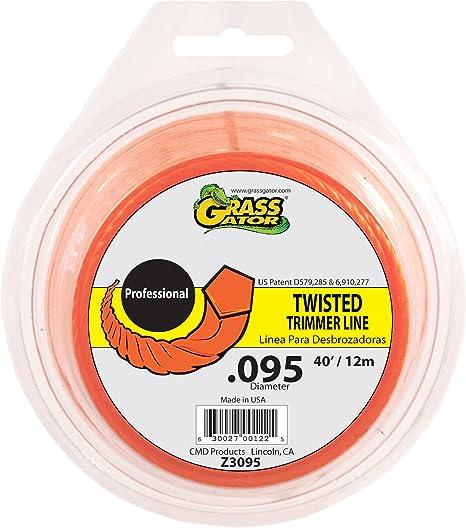 Grass Gator Z3095 Zip String Trimmer Line Pro 40-Feet Loop .095