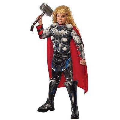 Rubies - Disfraz para niño, diseño Thor, Avengers Edad de Ultron, talla 3-4 años, (610433S): Juguetes y juegos