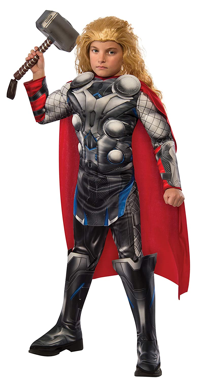 Rubies - Disfraz para niño, diseño Thor, Avengers Edad de Ultron, talla 5-7 años, (610433-M)