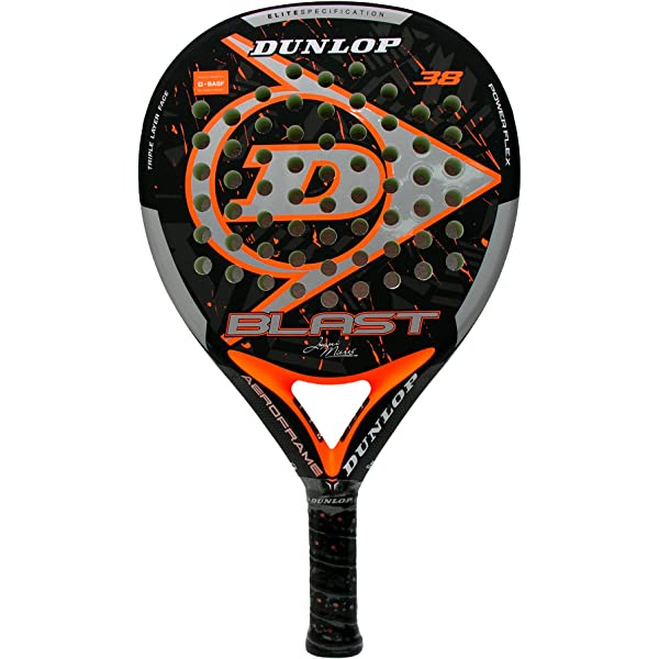 Pala de Pádel Dunlop Blast JM LTD Orange: Amazon.es ...