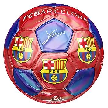 Balón Firmas Oficial FC Barcelona: Amazon.es: Deportes y aire libre
