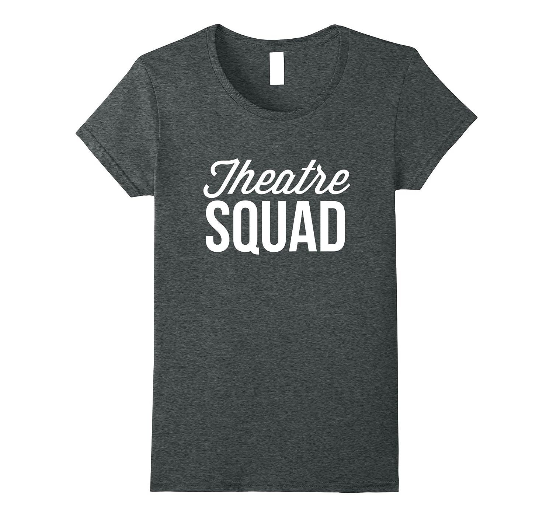 Womens Theatre Squad Tee Cranberry-Samdetee