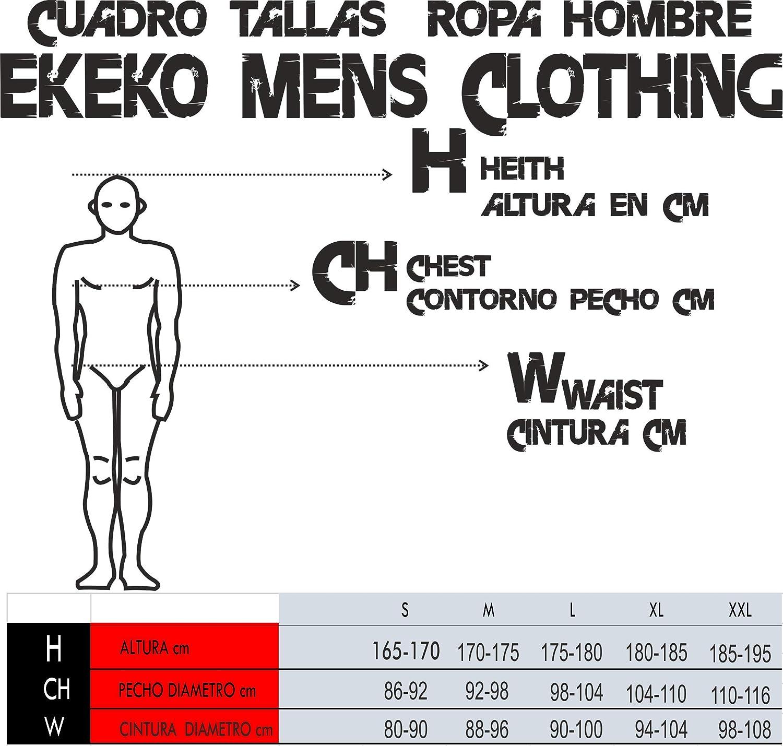 Running ESPA/ÑA Camiseta Tecnica EKEKO DE Tirantes para Hombre Atletismo y Deportes en General Color Rojo