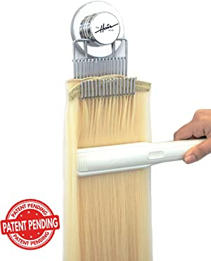 5a66f7a6e55 The Hair Shop Style Mate was made to style clip-ins, tape-ins, and bundles of  hair. Wash, style, and hold your hair on any flat surface.