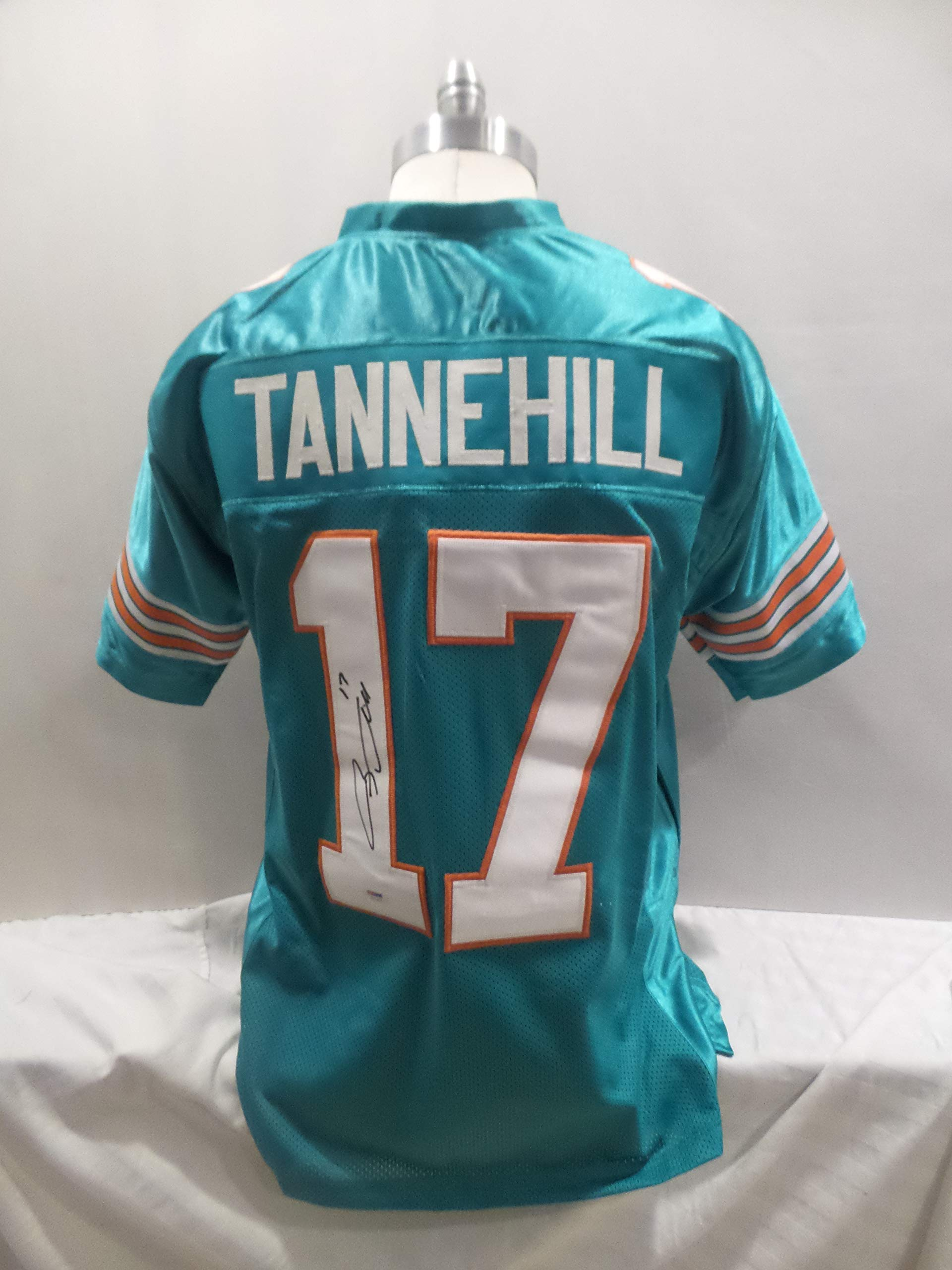 Ryan Tannehill Signed Miami Dolphins Teal Autographed Jersey PSA/DNA