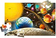 "Melissa & Doug Solar System Floor Puzzle (Floor Puzzles, Easy-Clean Surface, 48 Pieces, 36"" L x 24"" W, Great Gift for Girls"