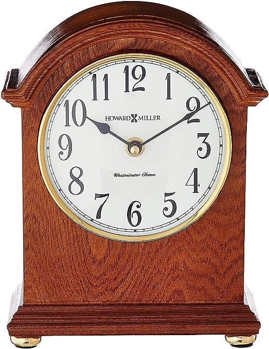Howard Miller Myra – Reloj de Mesa, Madera, Roble de Yorkshire ...