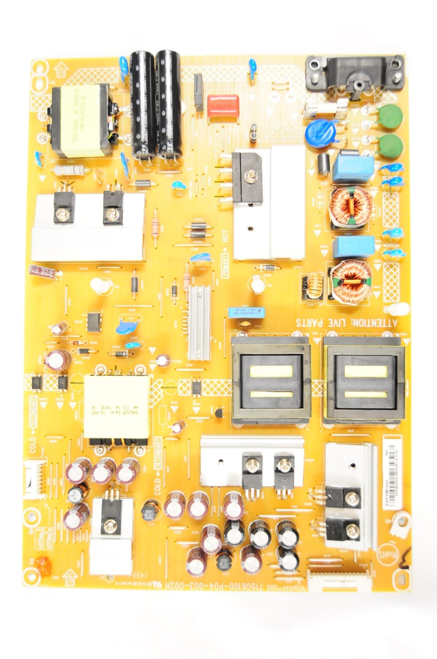 VIZIO M502i-B1 715G6100-P04-003-002H (X)ADTVD8613XA7 POWER SUPPLY 3996