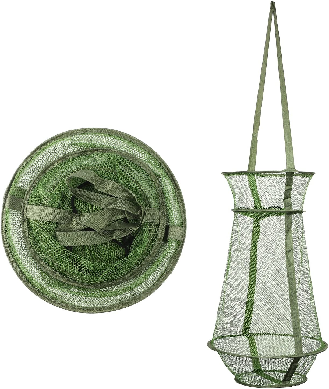 Mesh Net with sportelo 70 cm 4mm Mesh Net Fishing Fish Trap