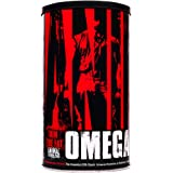 Animal Omega - Omega 3 6 Supplement - Fish Oil, Flaxseed Oil, Salmon Oil, Cod Liver, Herring, and more - 10 Sources of Omegas