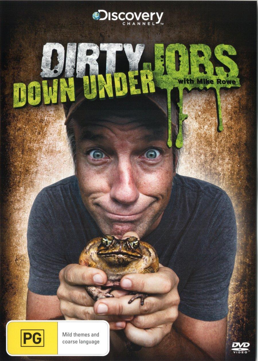Dirty Jobs Down Under DVD