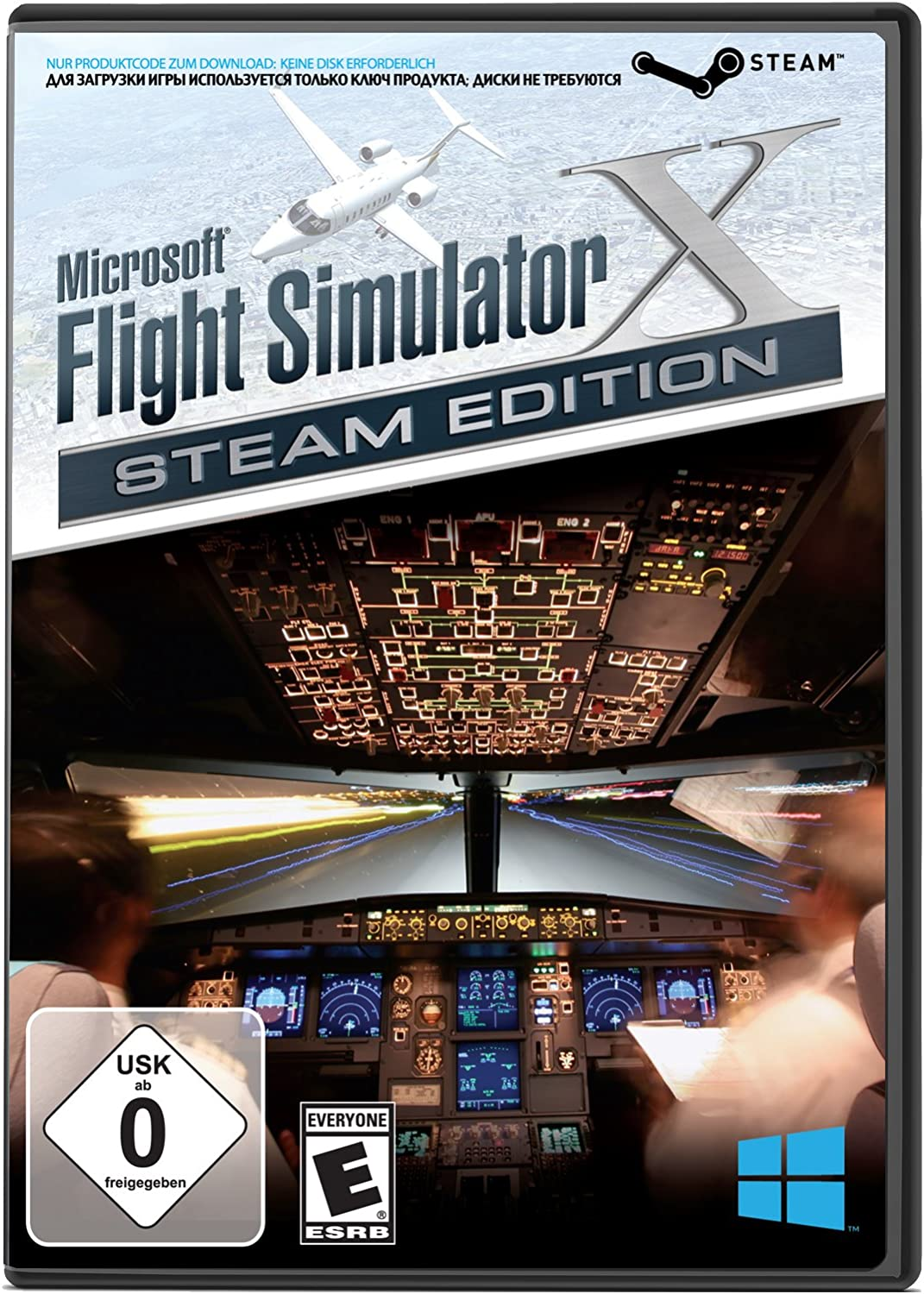 Amazon com: Microsoft Flight Simulator X: Steam Edition for PC