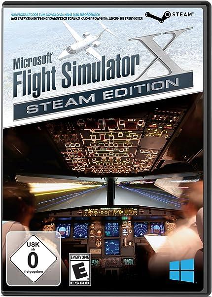 Amazon com: Microsoft Flight Simulator X: Steam Edition for