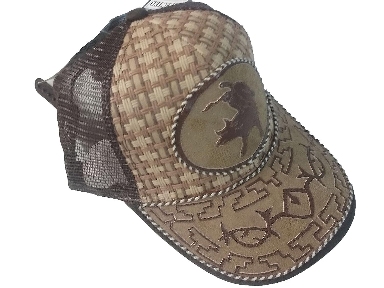 Gorra Charra Western Cowboy ID 140 GOX2 Negro//Beige