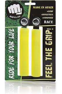 RIFYL (Comfy) Juego de puños para Bicicleta o Mountain Bike, Color Amarillo, diámetro 32mm: Amazon.es: Deportes y aire libre