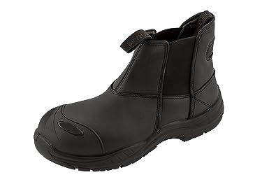 Brynje - Calzado de Protección de Piel para Mujer Negro Negro, Color Negro, Talla 39 UE