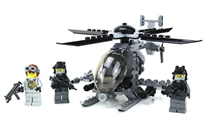 Ah-6 Little Bird w/ Troop Pack Custom Set