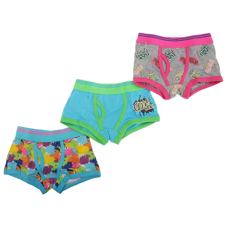 Universal Textiles Childrens/Kids Boys Trunk Fit Boxer Shorts Underwear (Pack Of 3) UTKU190_10
