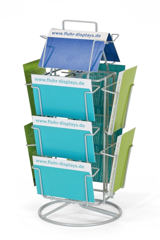 /TS12/113010072/espositore da banco per cartoline Magenta fluhr/