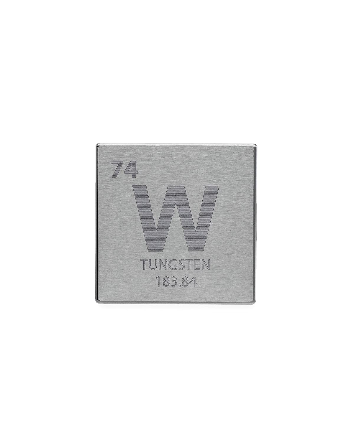 Tungsten 15 one kilo cube engraved periodic table symbol tungsten 15 one kilo cube engraved periodic table symbol amazon industrial scientific urtaz Choice Image