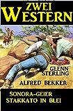Zwei Western: Sonora-Geier/Stakkato in Blei