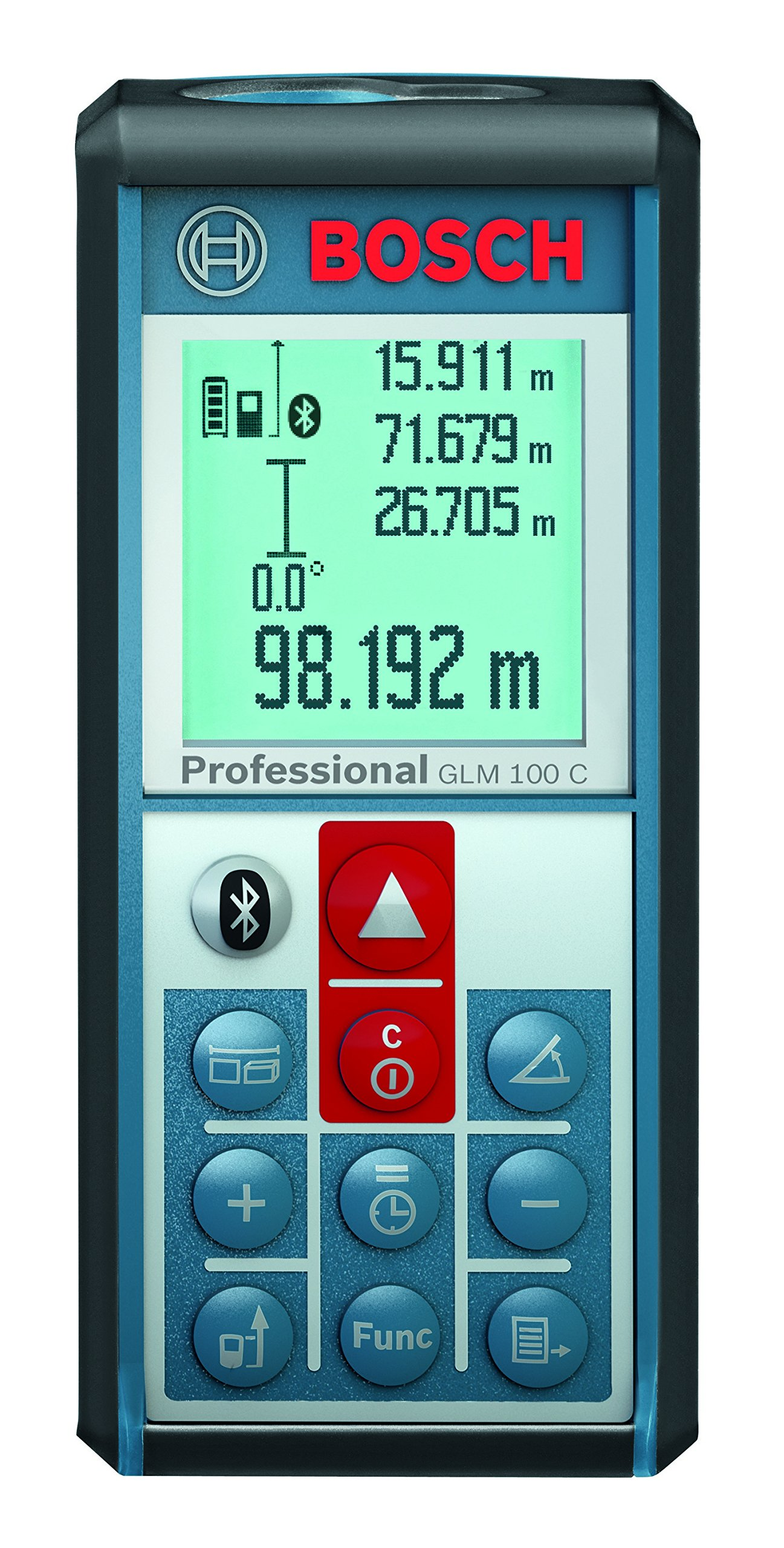 Bosch GLM 100 C Bluetooth Enabled 330-Foot Lithium-Ion Laser Distance and Angle Measurer