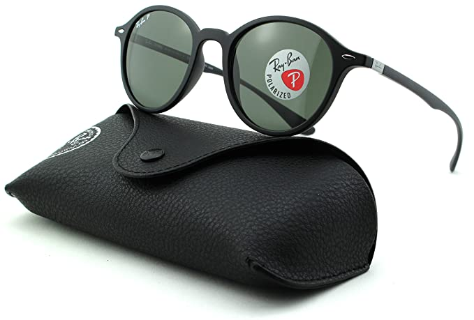 Amazon.com: Ray-Ban rb4237 polarizadas Unisex Ronda anteojos ...