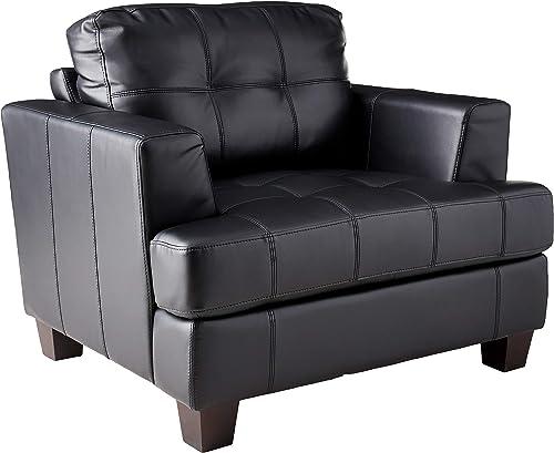 Samuel Cushion Back Chair Black