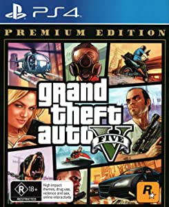 Grand Theft Auto 5 Premium Edition - PlayStation 4