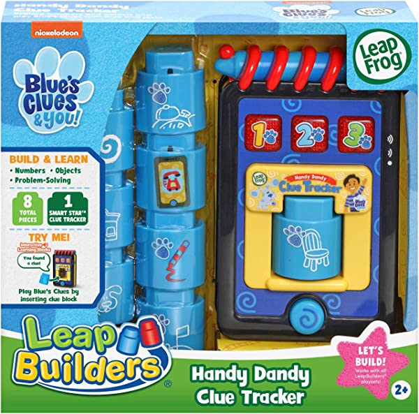 Blue's Clues & You! LeapBuilders Handy Dandy Clue Tracker