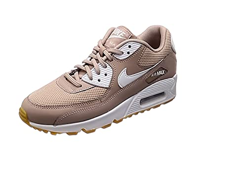 Nike Wmns Air MAX 90, Zapatillas Mujer, Negro (Black/White/Gum Light Brown/WH 055), 38 EU: Amazon.es: Zapatos y complementos