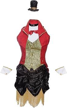 Emmas Wardrobe Director de Pista de Circo Disfraz Incluye el ...