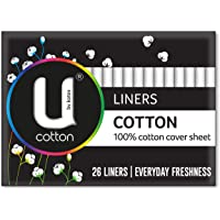U by Kotex Liners Cotton Liners (Pack of 26)
