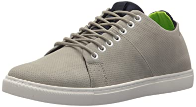 Tommy Hilfiger Men's Springer Sneaker, Grey, 7 Medium US