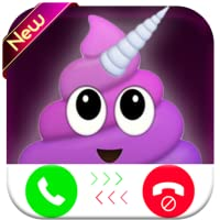 unicorn poop evolution calling you - fake phone call id - Prank Call For kids