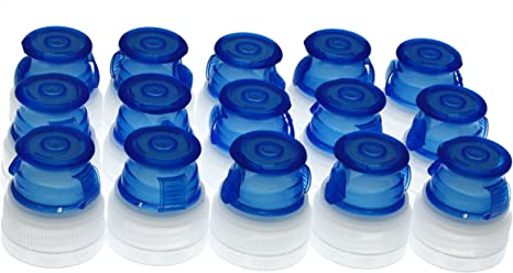 Freed Cap- desechables deportes botella de agua tapa para Generic agua botellas (total de 15 de repuesto deportes tapas) doble Pack Plus un poco más: Amazon.es: Deportes y aire libre